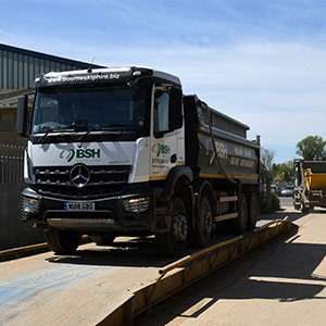 tipper truck hire from Bourne Skip Hire